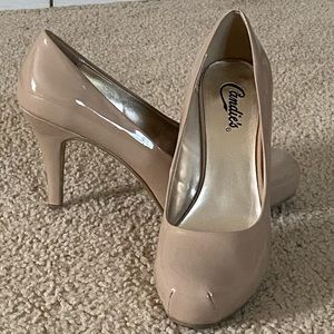 Candie's Nude Heel